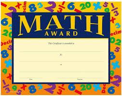 printable math award certificate template jpg u2013 best