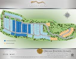leyden rock dream finders homes