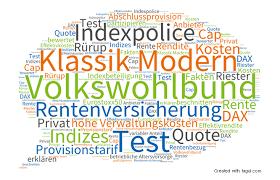 rentenversicherung mit indexbeteiligung indexpartizipation test volkswohlbund klassik modern indexrente