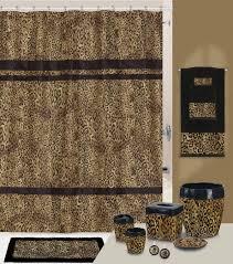 Zebra Print Bathroom Rugs Impressive Leopard Bathroom Accessories For Good Looking Animal