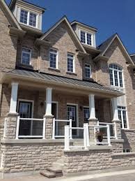 exterior design genstone siding the beauty of stone on a budget
