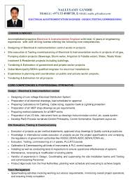 Core Qualifications List Nallusamy Gandhi