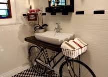 Diy Bike Desk 13 Creative Diy Bathroom Vanities