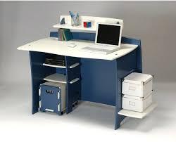 Blue Computer Desk Blue Computer Desk Wood Desk Navy Blue Computer Desk