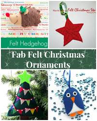 felt ornaments fab felt christmas tree ornaments part 1 so sew easy