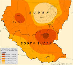 Map Of Sudan Food Security In The Horn Of Africa The Implications Of A Drier