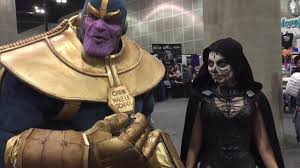 theatrical makeup school an ode to mick ignis as thanos wondercon 2016