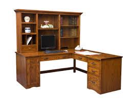 Computer Desk With Return Mission Computer Desk With Return Amish Furniture Factory