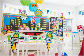Superhero Classroom Decorations Ideas
