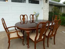 Thomasville Cherry Dining Room Set by Queen Anne Dining Room Furniture Impressive Decor Thomasville