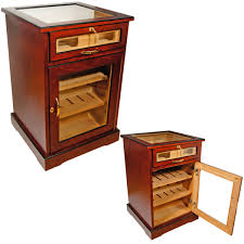 Cabinet End Table Wine And Cigars Cabinet Humidor Cuban Cafters