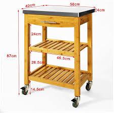 beistellwagen küche axentia rollwagen allzweckwagen für büro küche bad