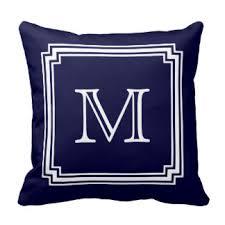 Navy Blue Decorative Pillows Blue Pillows Decorative U0026 Throw Pillows Zazzle