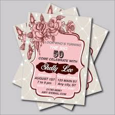 50 Birthday Invitation Cards Online Get Cheap 50th Birthday Favors Aliexpress Com Alibaba Group