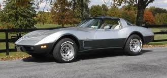 1978 corvette stingray 1978 silver anniversary corvette corvette history timeline