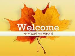 welcome fall sermon powerpoint fall thanksgiving powerpoints
