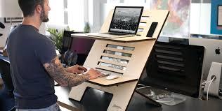 sitz steh schreibtisch selber bauen start2 standsome worklifestyle