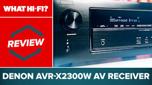 denon india home theater denon avr x2300w av receiver review youtube