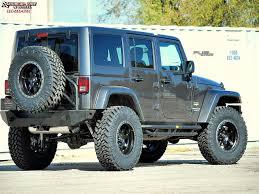 jeep black matte jeep wrangler fuel trophy d551 wheels matte black w anthracite ring