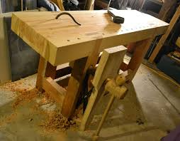 Woodworking Bench Plans Pdf by Roubo Style Workbench 11 Steps With Pictures