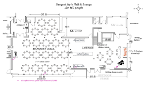 Rental House Plans by Superb Banquet Hall Floor Plans 1 06 Banquet Style Hall And
