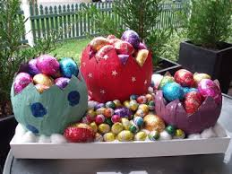 paper mache easter eggs paper mache easter eggs my kid craft