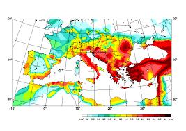 earthquake hazard map compilation of the gshap regional seismic hazard