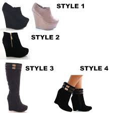 s boots style s wedge heel winter boots mount mercy