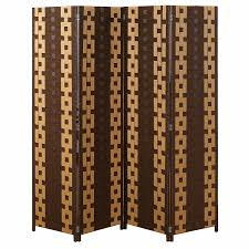 amazon com mygift chain link pattern 4 panel room divider