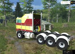 2017 kenworth cabover kenworth k100 cabover truck v 1 0 farming simulator 2015 15 mod