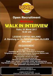 Legend Coffee Malang lowongan pekerjaan di legend coffee malang ilovemalang net