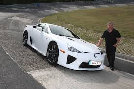 lexus lfa location most wanted first german customer takes deliver of lexus lfa at nurburgring