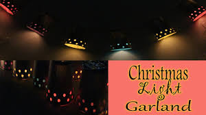 diy paper cup light garland how to make crafts at home