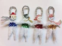 196 best chenille ornaments images on pipe cleaners