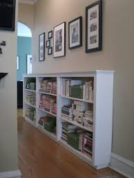 Simple Wooden Bookshelf Plans by Finding Space Hallway Bookcases Hall Bed Room And Room