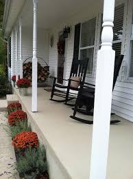 Concrete Patio Resurfacing Products Pine Tree Home Resurfacing Concrete Porch Makeover