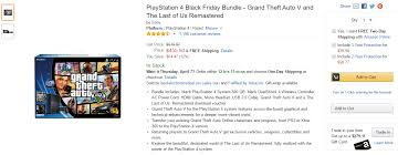 amazon ps4 black friday sale gta v ps4 bundle discounted on amazon gta 5 cheats