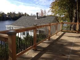 okauchee lake patio railing update