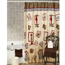 Burgandy Shower Curtain A Shower Curtain Which Is White And Burgundy Useful Reviews Of
