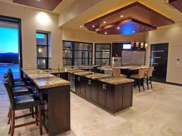 kitchens with bars and islands 37 gorgeous kitchen islands with breakfast bars pictures