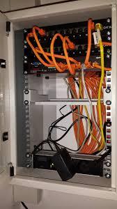 Einbauk He Winkelk He 10 Zoll Netzwerkschrank Mein Kleines Heimnetzwerk Technikaffe De