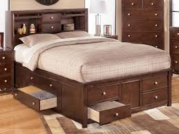 bedroom delightful full bed frame with storage bed u0026 bath photo