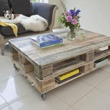 tische fã r wohnzimmer möbel aus paletten europalette paletten tisch einrichtungsideen
