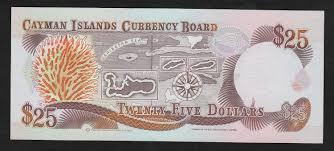 twenty five dollars 1991 cayman islands twenty five dollars