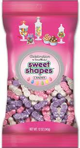 pacifier shaped candy sweetworks celebrations candy sweet shapes bag 12 oz