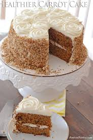 brown cake healthier carrot cake moist with honey sweetened frosting