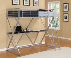 uncategorized loft bunk beds with desk for stylish wood storage