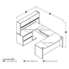 u shaped desk on hayneedle u shaped office desk