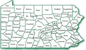 map of bucks county pa towns pa counties