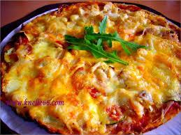 cuisine avec les restes pizza au poulet chorizo et fromage le de pearl